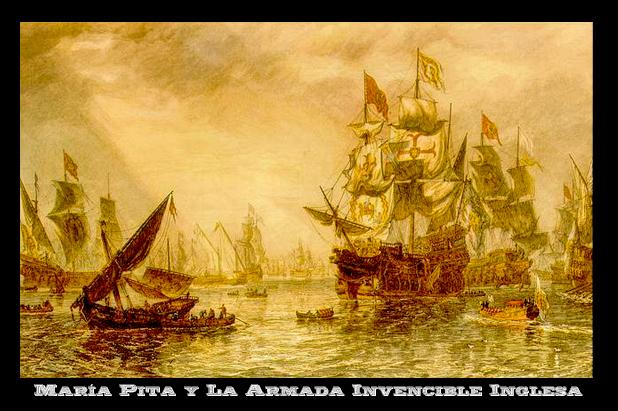 María Pita y la derrota de la Armada Invencibleinglesa
