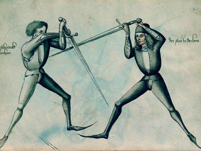 El manuscrito Talhoffer, el libro de luchasmedievales